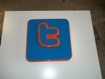 3D Twitter Sign - Moulded letters, Shop Signs, School Signs and more