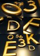 3D Gold Sign Letters - Moulded letters, Shop Signs, School Signs and more
