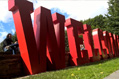UK Sign Warehouse Coloured Freestanding Letters