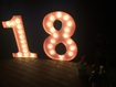 Large Illuminated Prop Letters - Moulded letters, Shop Signs, School Signs and more