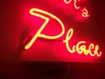 Pink Neon Sign- Moulded letters, Shop Signs, School Signs and more