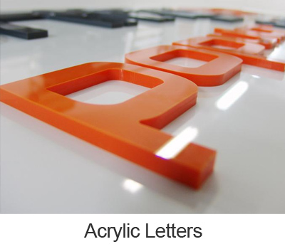 Acrylic Letters Signs