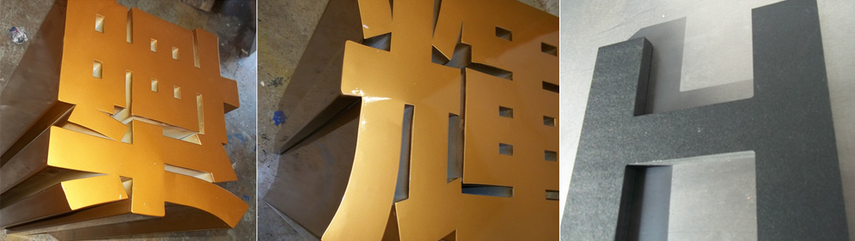 Hire large freestanding letters from UK Sign Warehouse