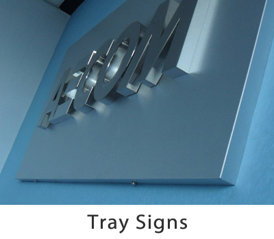 Tray Signs Gallery