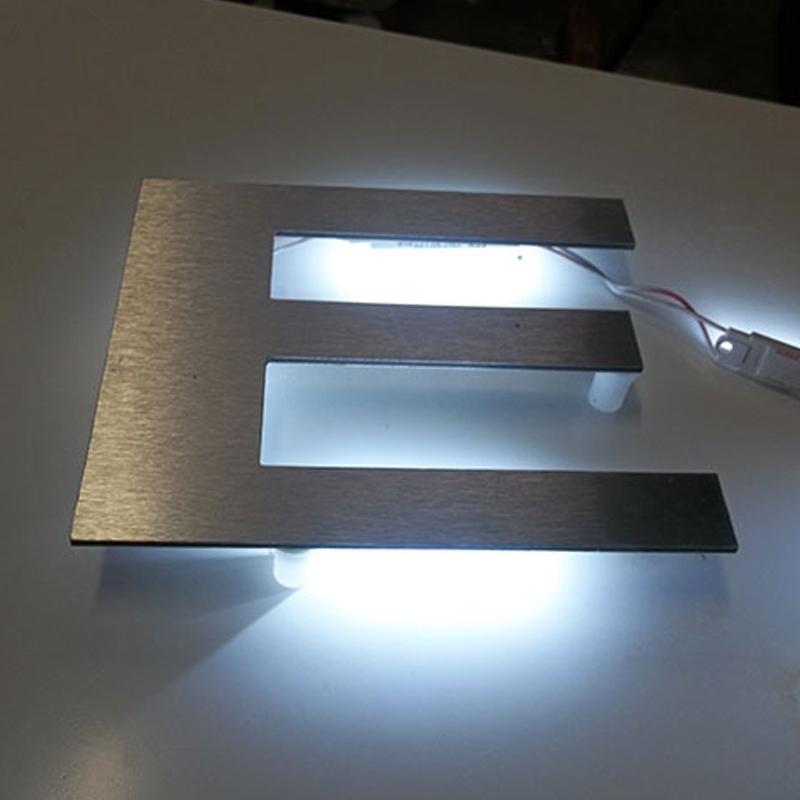 6 Quot Flat Cut Led Lit Letters Uk Sign Warehouse
