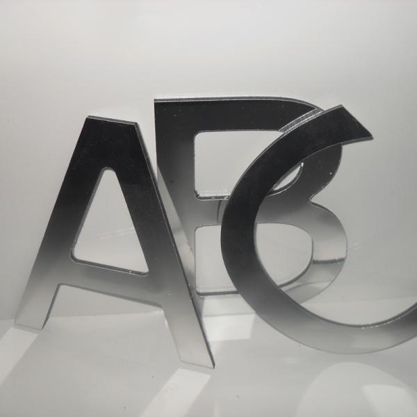 100mm Flat Cut Stainless Steel Letters Uk Sign Warehouse