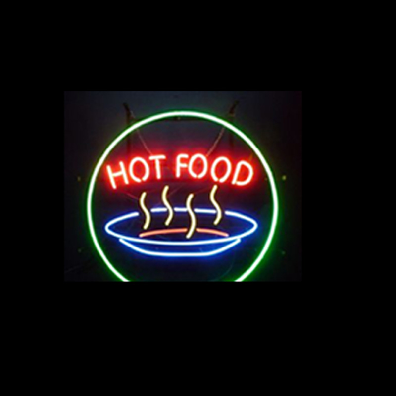Hot Food Neon Sign Uk Sign Warehouse